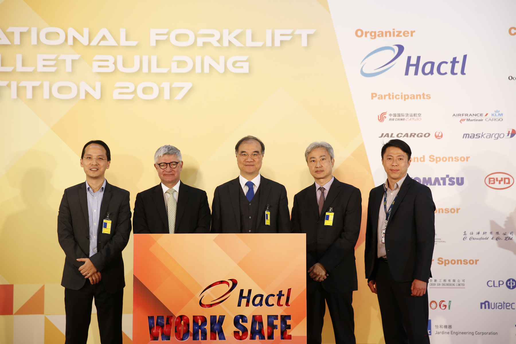 Japan Airlines wins Hactl International Forklift and Pallet Building Competition