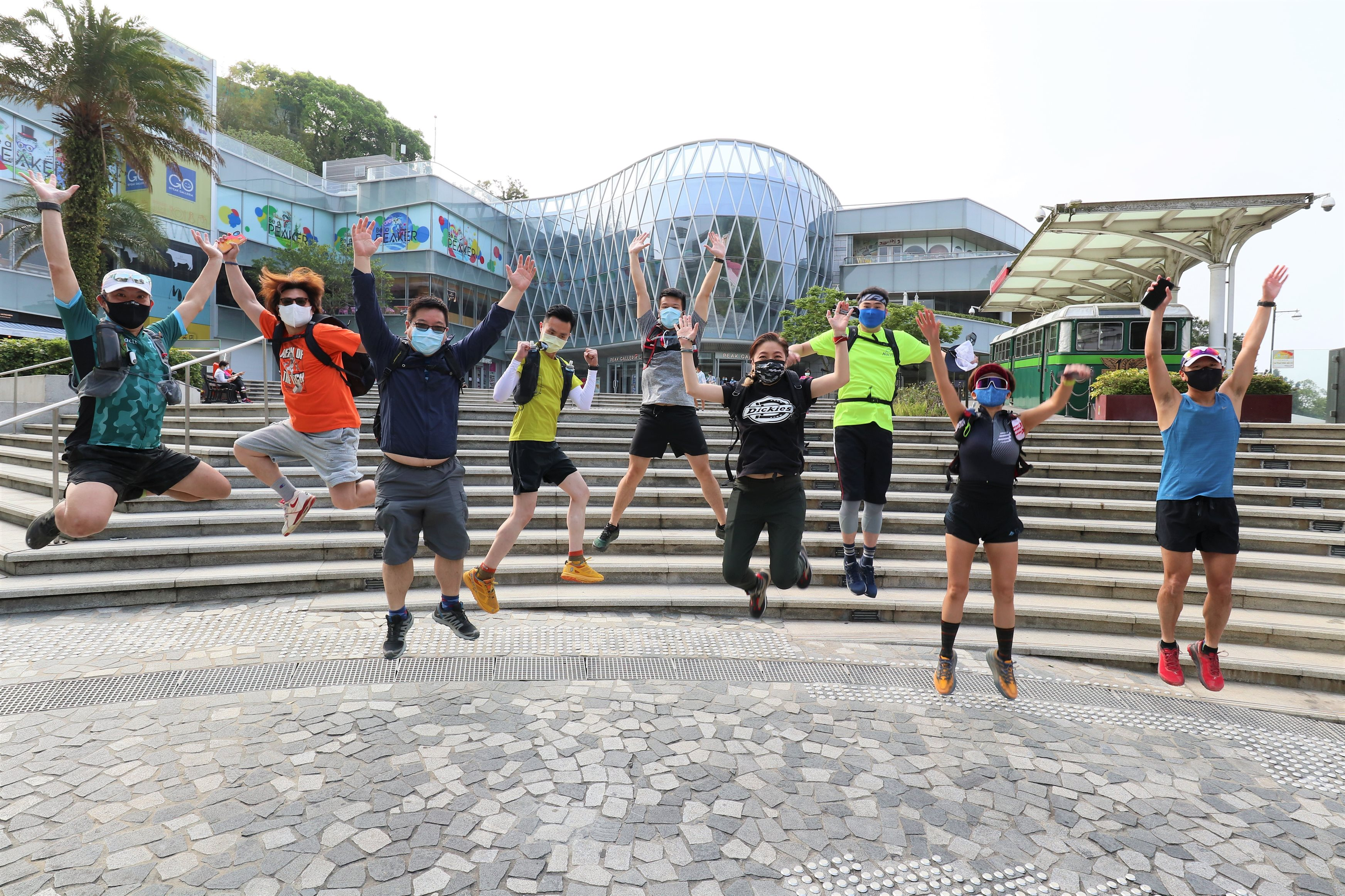 Hactl scores hat-trick at Green Power Hike