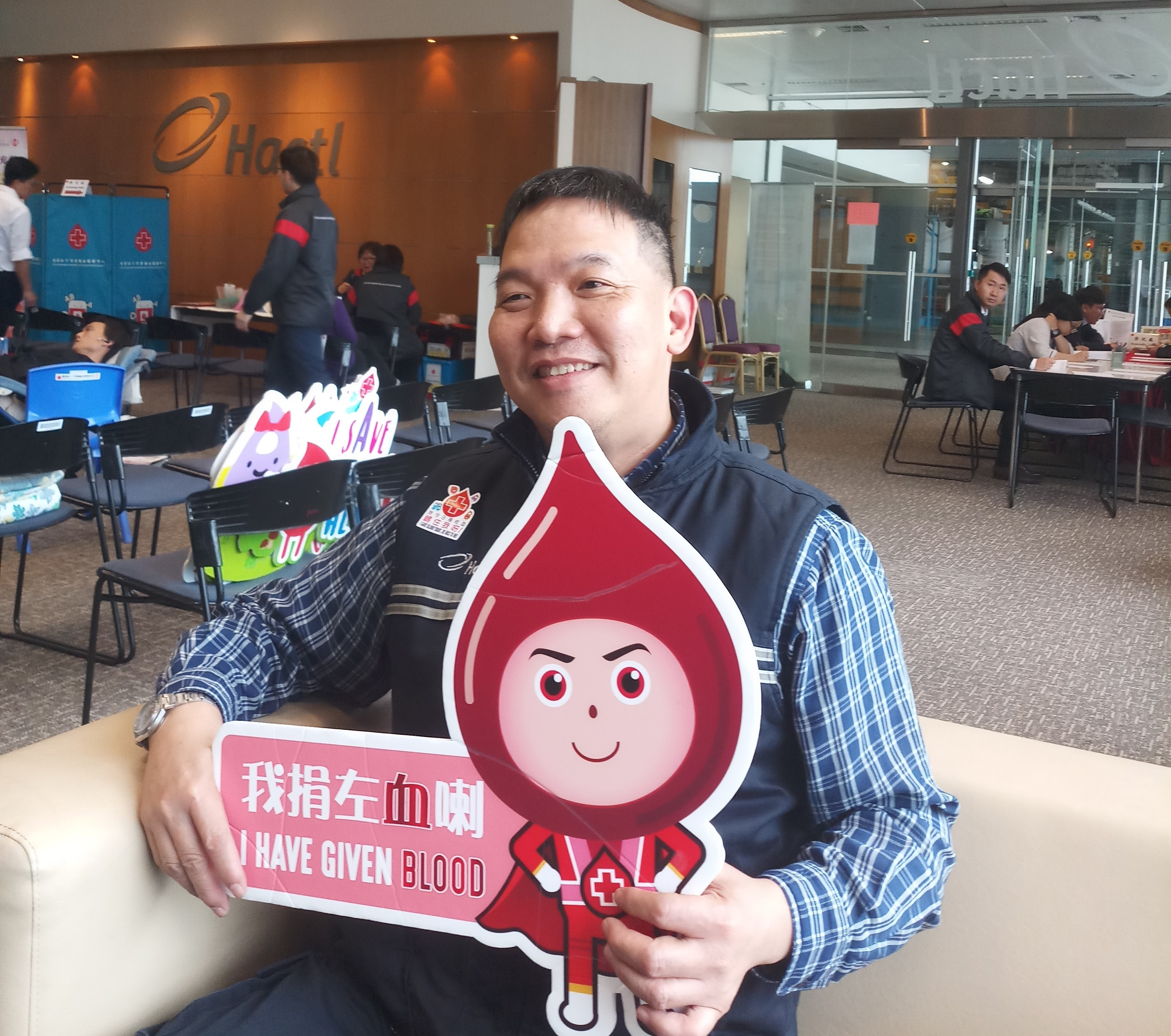 Blood Donation Day participants up 50%