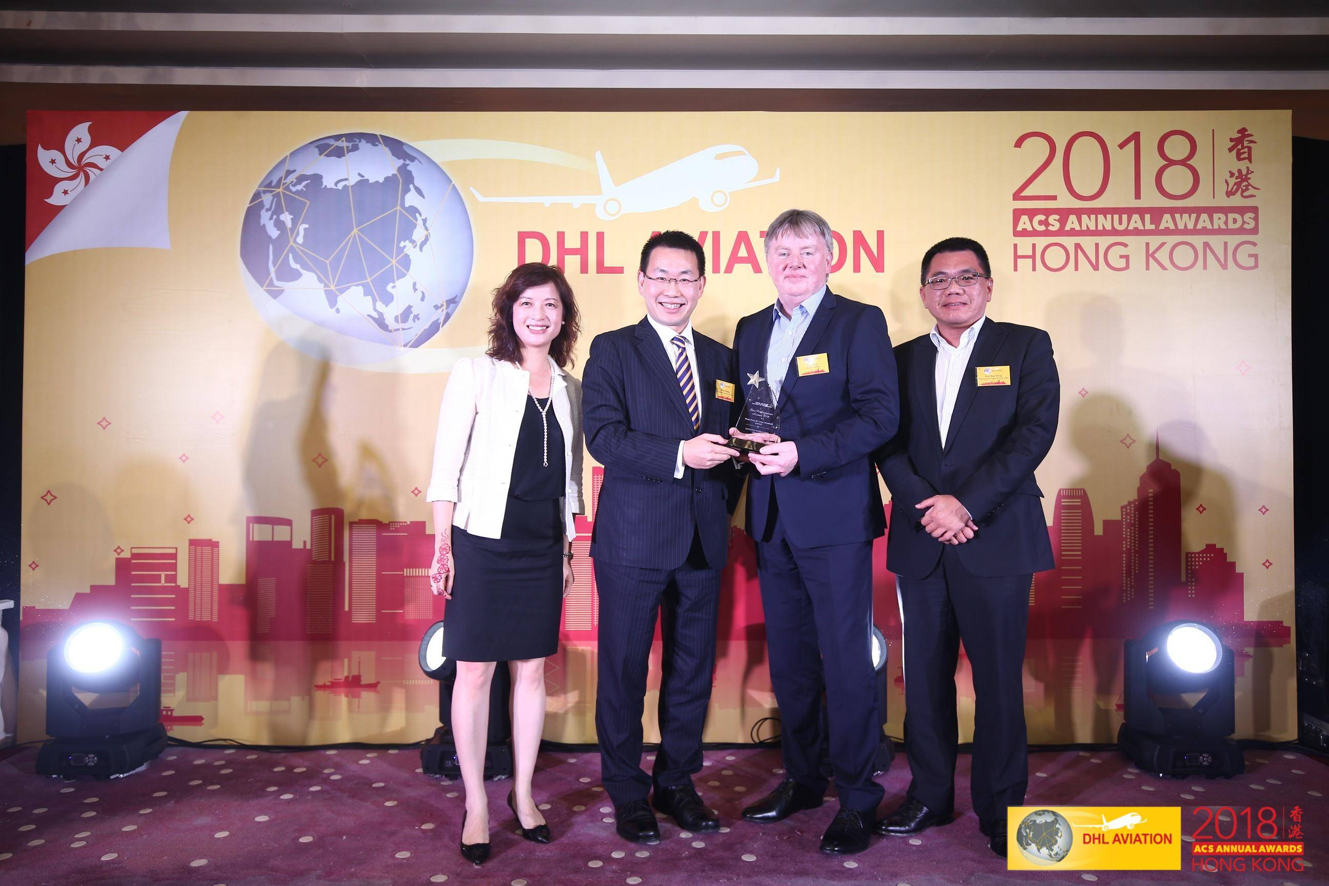 Hactl scored DHL Star Performance Award for the fifth time