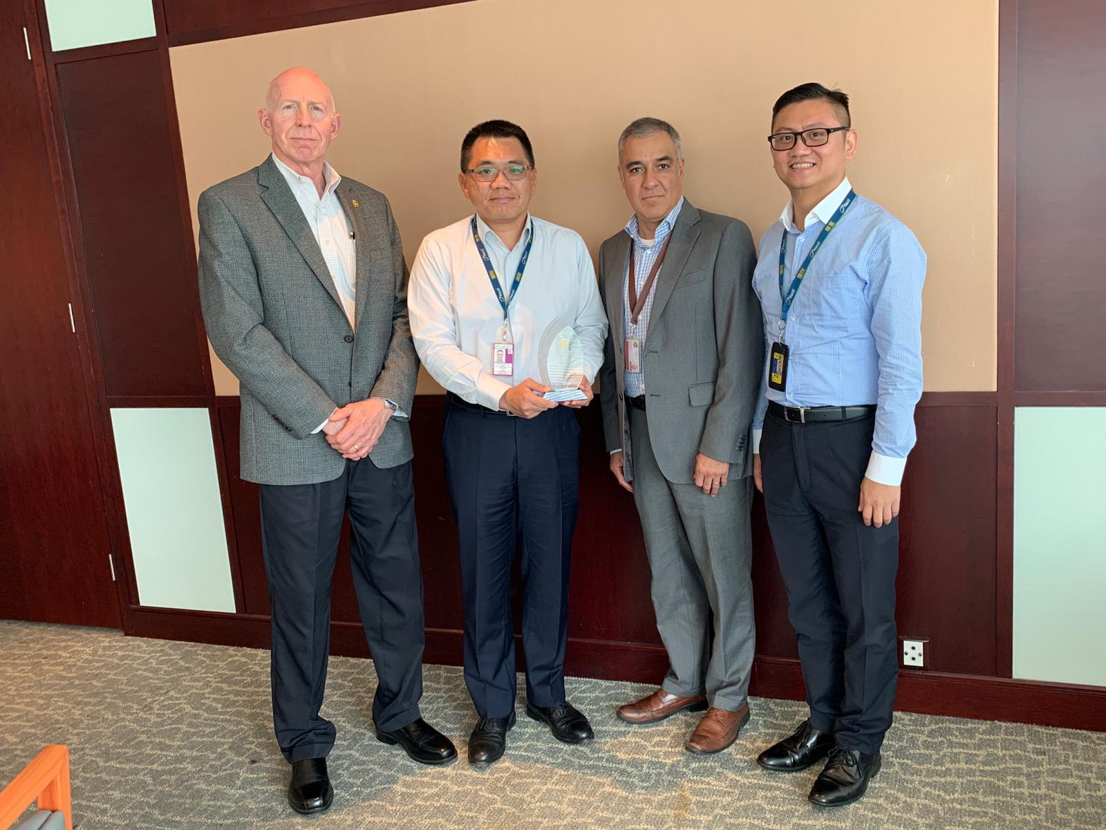 UPS recognised Hactl for 100% compliance