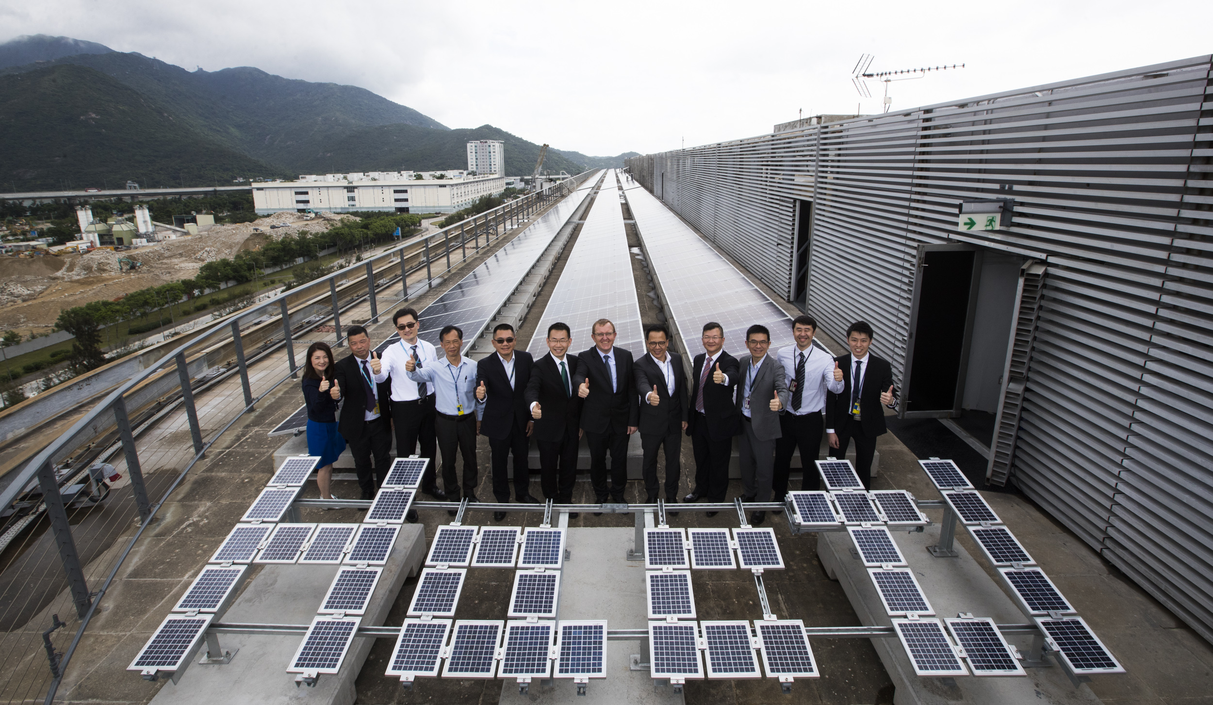 Hactl celebrates commissioning of its rooftop solar farm